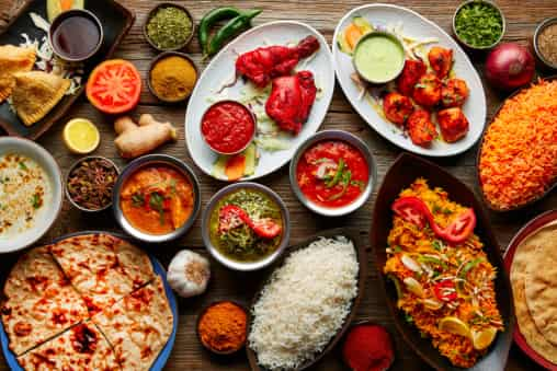 History in the Making: The Indian Cuisine